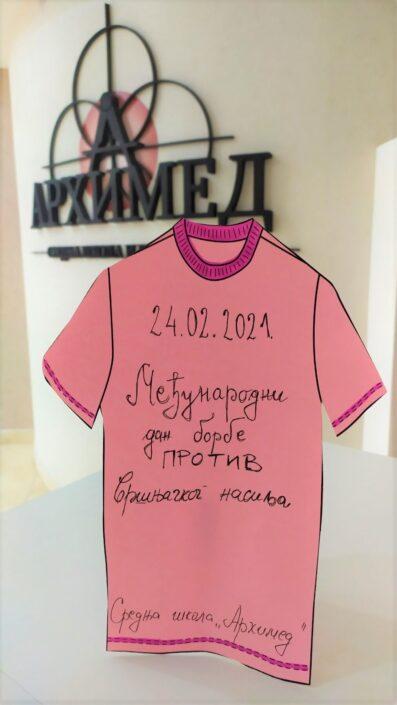 Arhimed - Srednja škola i gimnazija - pink-shirt-day