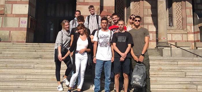 Učenici Arhimeda u poseti Crkvi Sv. Marka
